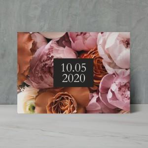 Renkli Güller Düğün Davetiyesi 700328
