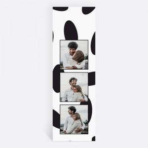 Beyaz Fotoğraflı Kişiye Özel Kitap Ayracı 70006