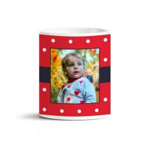 Kırmızı Fotoğraf Baskılı Kupa Bardak 40022