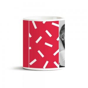 Kırmızı Fotoğraf Baskılı Kupa Bardak 40038