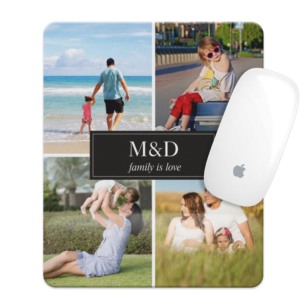 Kişiye Özel 4  Fotoğraflı Mouse Pad