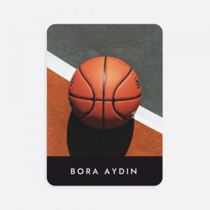 Basketbol Fotoğraflı İsimli Kişiye Özel Oyun Kartı