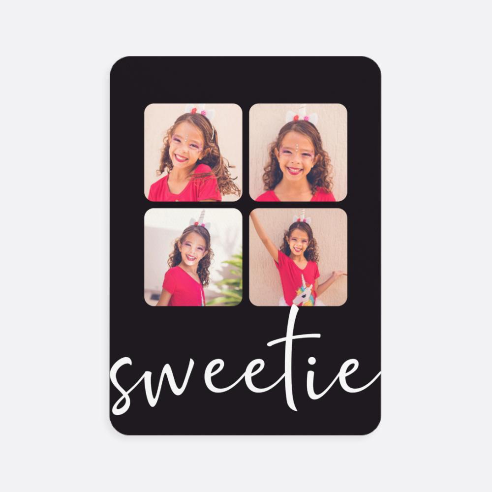 Sweetie Fotoğraflı Kişiye Özel Oyun Kartı