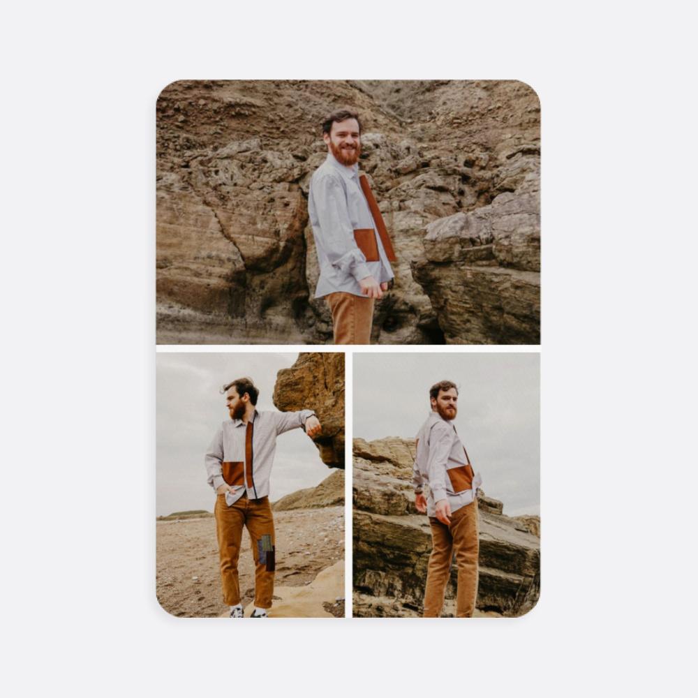 Üç Fotoğraflı Kişiye Özel Oyun Kartı